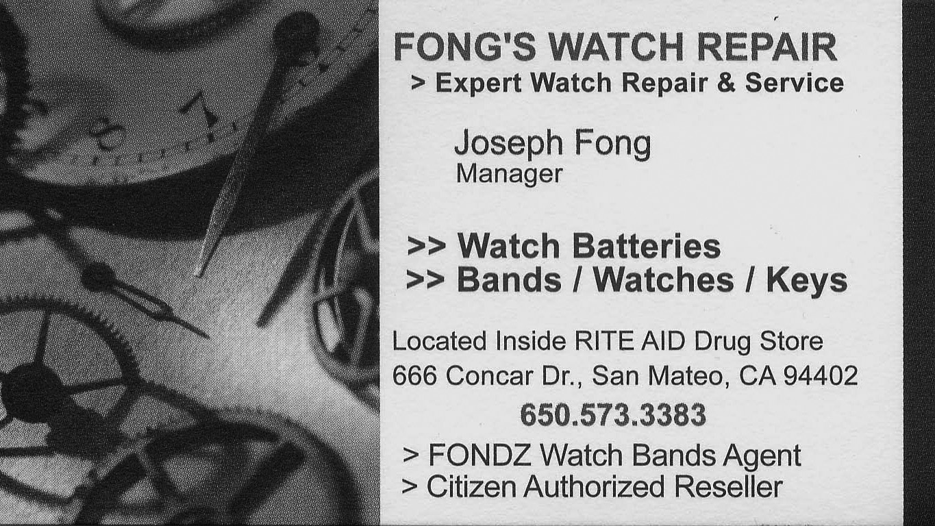 Fong's Watch Repair